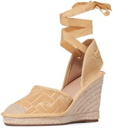 Fendi Roam Ankle Strap Wedge Sandal