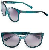 Calvin Klein 57mm Oversized Wayfarer Sunglasses