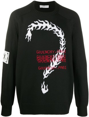 Givenchy Question Mark Jumper