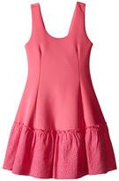 Ella Moss Anneka Drop Waist Tulip Dress (Big Kids)