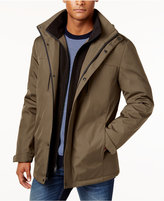 Kenneth Cole New York Systems Water-Resistant Jacket with Removable Hood