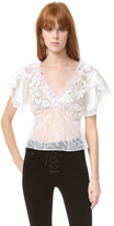 Rodarte Lace Blouse
