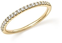 Bloomingdale's Diamond Micro Pave Band in 14K Yellow Gold, 0.15 ct. t.w.