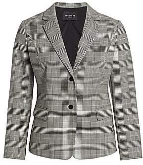 Lafayette 148 New York Lafayette 148 New York, Plus Size Women's Thatcher Glen Plaid Stretch-Wool Blazer