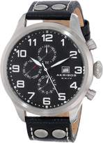 Akribos XXIV Men's AK664SSB Essential Analog Display Swiss Quartz Watch