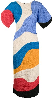 Mara Hoffman All-Over Print Dress