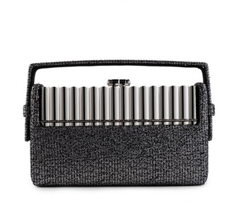 BIENEN-DAVIS Xenon Tweed Minaudiere Bag