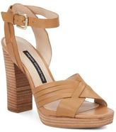 French Connection Gilda Leather Sandals