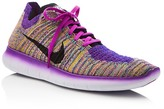 Nike Women's Free RN Flyknit Lace Up Sneakers