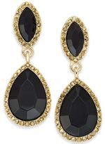 INC International Concepts Gold-Tone Stone Drop Earrings, Created for Macy's