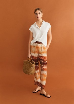MANGO Short sleeve shirt light/pastel grey - 2 - Women