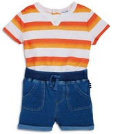 Splendid Boys' Ombré Stripe Tee & Shorts Set - Baby
