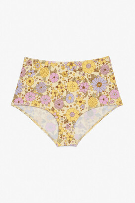 Monki High-waisted bikini briefs