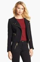 MICHAEL Michael Kors Knit Moto Jacket