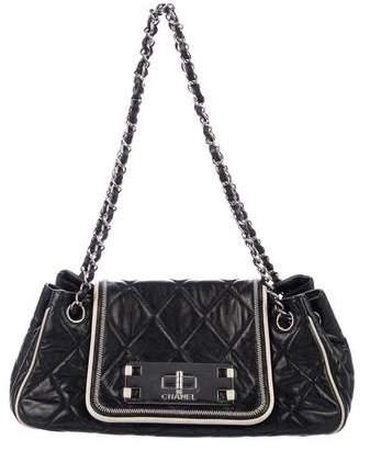 Chanel East/West Accordion Flap Bag