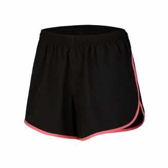 Equipment Desirable Time Women Running Shorts Athletic with Pockets Breathable Waistband Workout Black S Size
