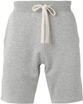 Closed drawstring sweatshorts - men - Cotton/Polyester - M