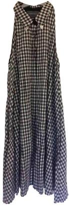 Antipodium Black Cotton Dress for Women