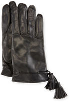 Imoni Leather Tassel Gloves