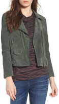 Rebecca Minkoff Women's Wes Suede Moto Jacket