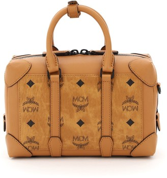 MCM Berlin Soft Visetos Tote Bag