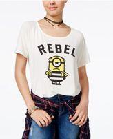 Hybrid Despicable Me Juniors' Minion Rebel Graphic T-Shirt