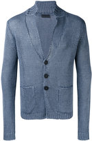 Iris von Arnim patch pocket cardigan - men - Linen/Flax - XL