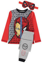 George Spider-Man and Iron Man Pyjamas with Reversible Mask