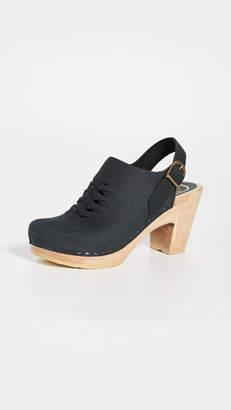 NO.6 STORE Aimara Woven High Heel Clogs