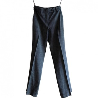 Christian Dior Multicolour Wool Trousers