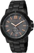 Sean John Men's ' Quartz Metal and Alloy Dress Watch, Color: (Model: SJC0172003)