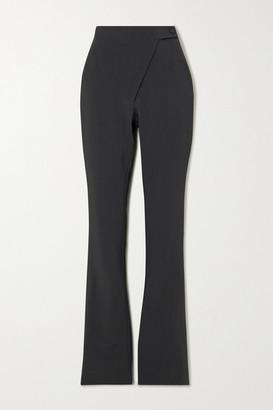 Coperni Woven Flared Pants - Dark gray