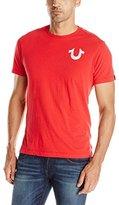 True Religion Men's Crew-Neck Graphic T-Shirt