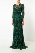 Marchesa Guipure Lace Gown