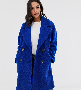 MBYM double breasted coat-Blue