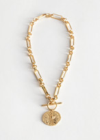 And other stories Coin Pendant Chain Necklace