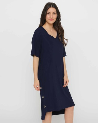 Privilege Grace V-Neck Dress
