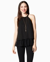 Charming charlie Tiered Halter Tank