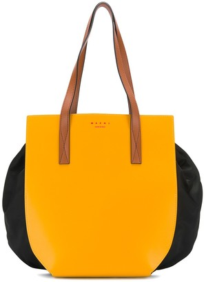 Marni colour blocked shoulder bag