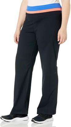 Shape Fx Women's Plus Size Everyday Straight Pant