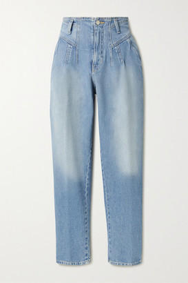 TRE by Natalie Ratabesi High-rise Tapered Jeans - Blue