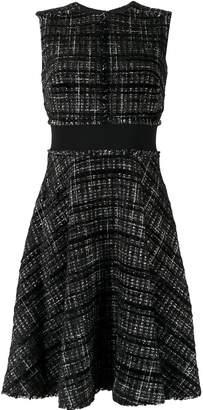 Paule Ka flared check dress