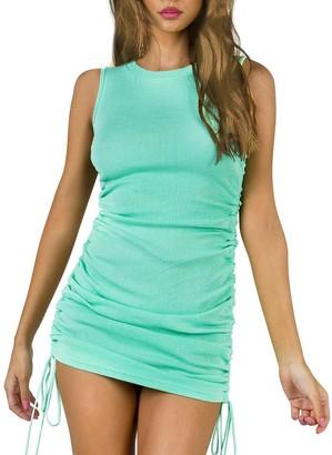 Steve Madden Sleeveless Mini Dress Mint Green