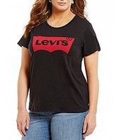 Levi's s Plus Perfect Short Sleeve Cotton Tee