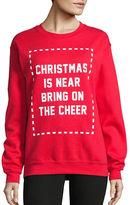 Adolescent Clothing Christmas Is Near Crew Neck Sweatshirt