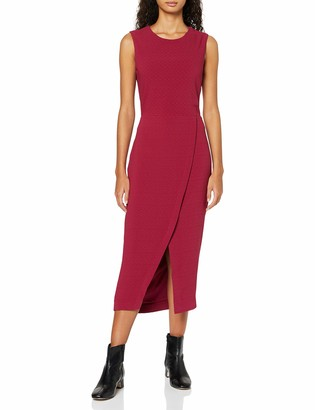 Find. Amazon Brand Women's Midi Wrap Dress
