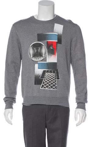 Christian Dior Graphic Knit Sweatshirt