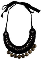Marni Knitted Chain Bell Necklace