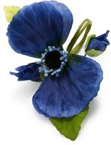 Sur La Table Blue Poppy Napkin Ring