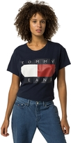 Tommy Hilfiger Tommy Jeans Cropped Flag Tee